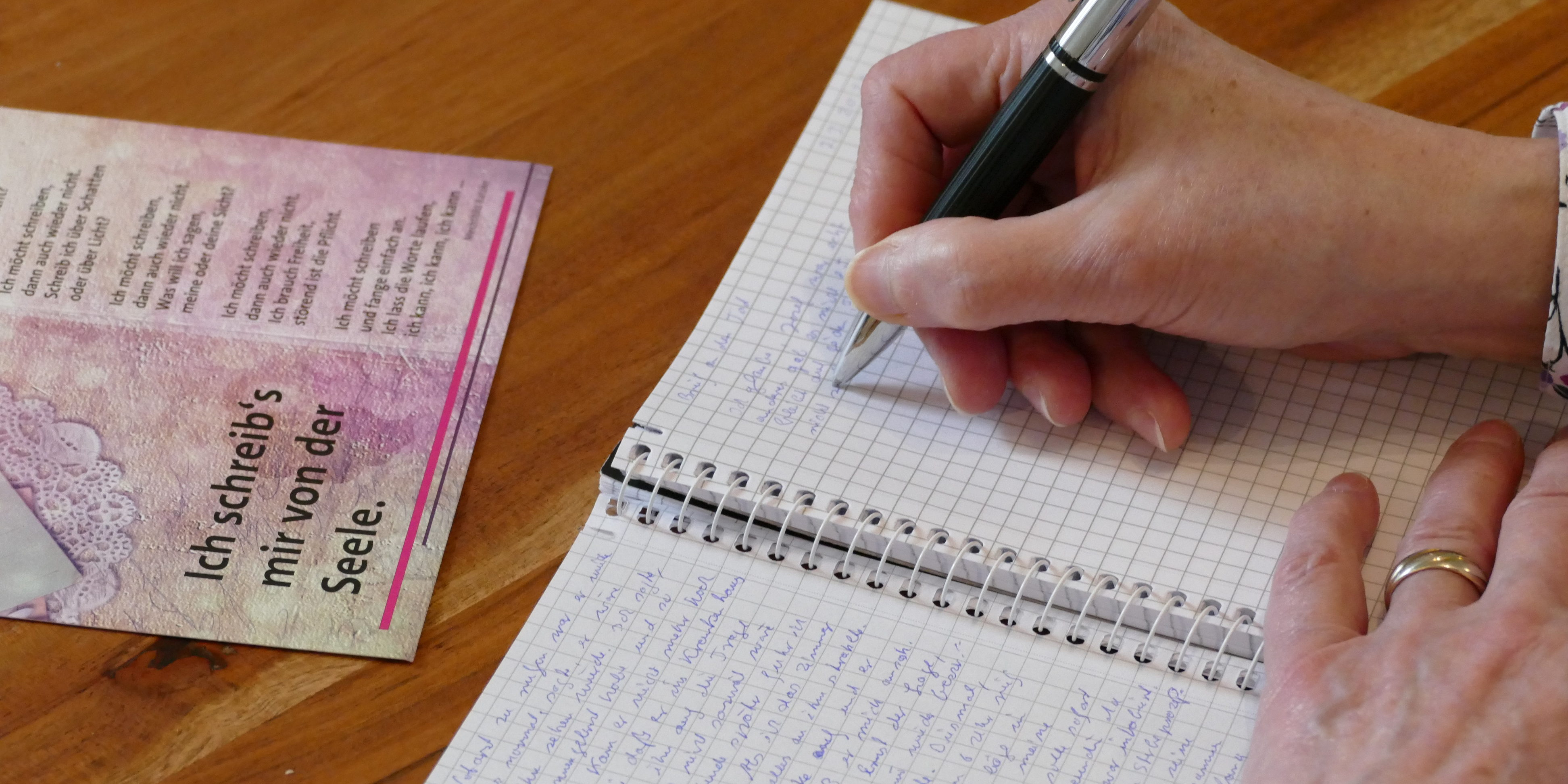Ich schreibs mir von der Seele. Trauerbuch.